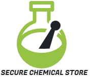 Secure Chemical Store